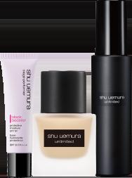 極保濕輕感防護乳+無極限超時輕粉底+無極限持久定妝噴霧